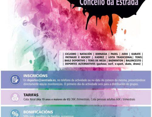Escolas Deportivas Municipais 2018/2019